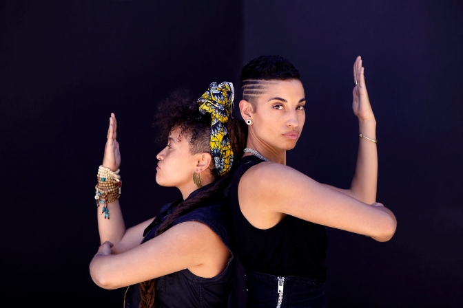 The duo 'Climbing PoeTree' is art meets activism in its most powerful revelation